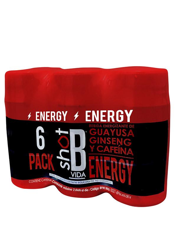 6pack bvida energy