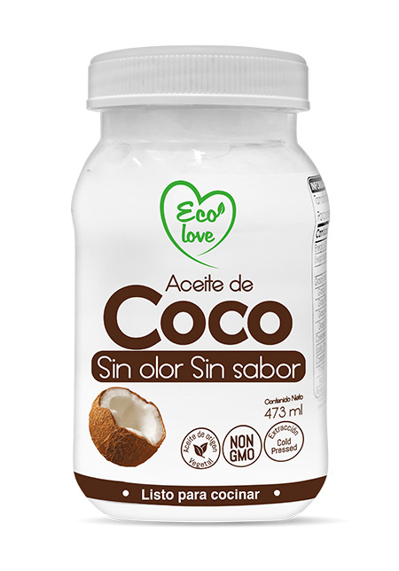 aceite de cocosin olor
